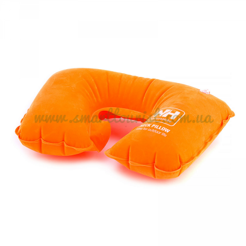 Надувная подушка Inflatable Travel Neck Pillow	orange